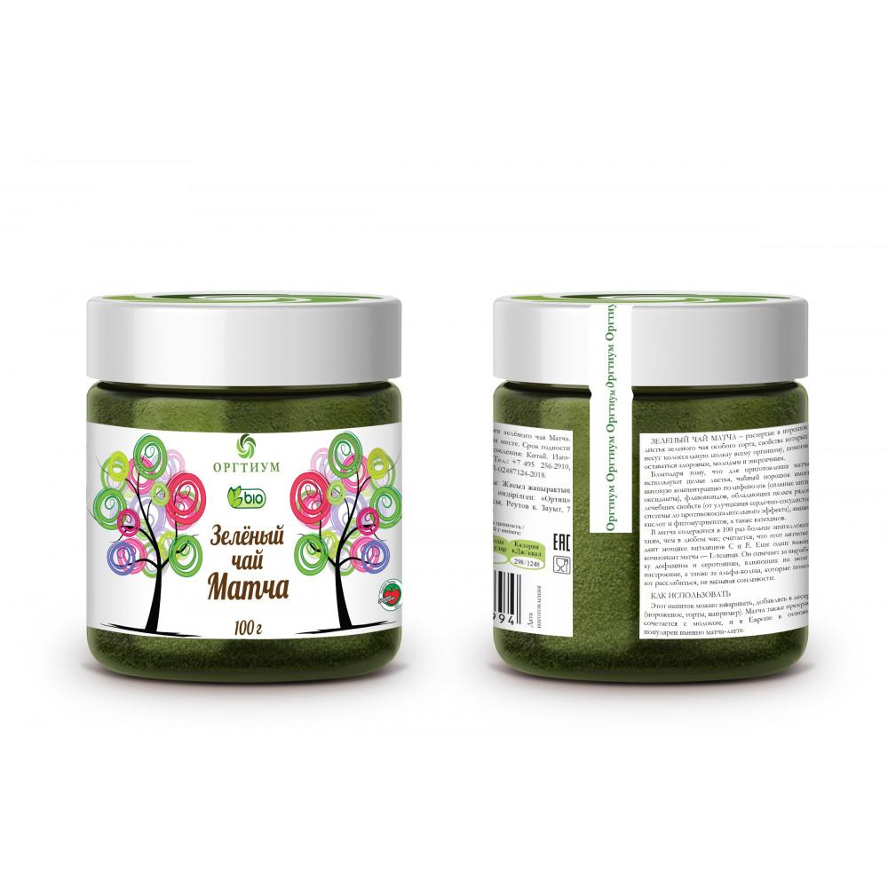 Зеленый чай матча, порошок, 50 г