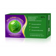 Зостерин - Ультра 60% растительный энтеросорбент от 3-х до 12 лет (5 пак. по 0,5 г)